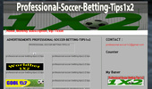 Professional soccer betting tips 1x2, soccer predictions free tips 1X2