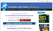 Fixed Matches, Football Betting Tips