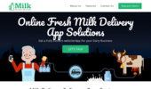 Mobile App for Milk Delivery - Dairy Milk Management Software